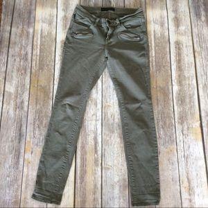 Rock & Republic Green Jeans (Size 4)